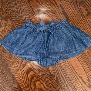 ✨2/$20✨ Gap baby girl jean skirt